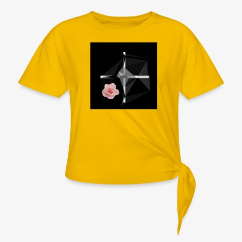 Roses and their thorns - Women's Knotted T-Shirt