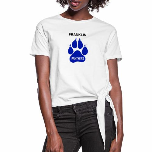 Franklin Panthers - Women's Knotted T-Shirt