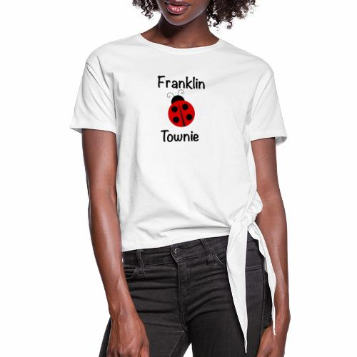 Franklin Townie Ladybug - Women's Knotted T-Shirt