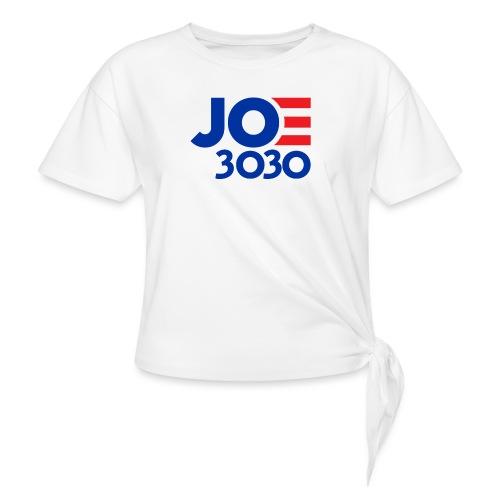 Joe 3030 - Joe Biden Future Presidential Campaign - Women's Knotted T-Shirt