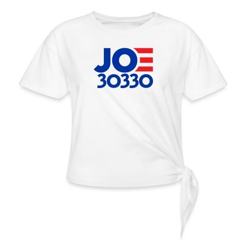 Joe 30330 Biden Presidential Campaign Gaffe Gear - Women's Knotted T-Shirt