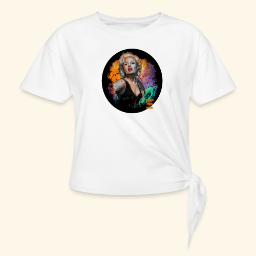 Marilyn Monroe - Women's Knotted T-Shirt