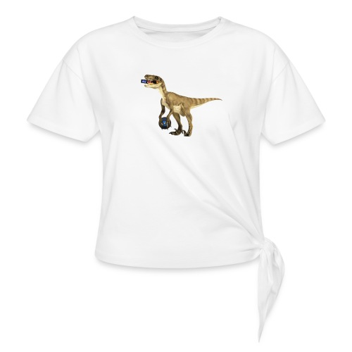 amraptor - Women's Knotted T-Shirt
