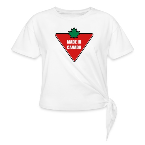 Made in Canada Tire - Women's Knotted T-Shirt