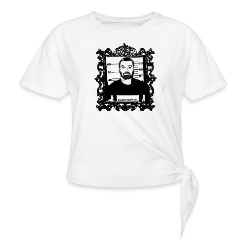 Framed Steven Avery - Women's Knotted T-Shirt