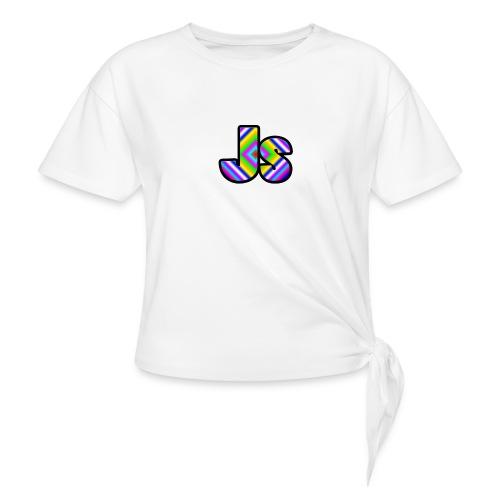 JsClanLogo2 - Women's Knotted T-Shirt
