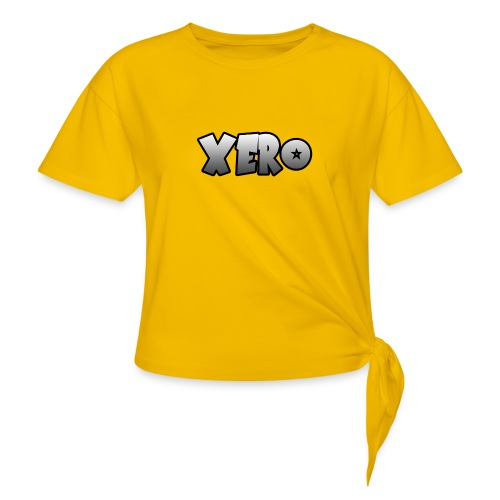 Xero (No Character) - Women's Knotted T-Shirt