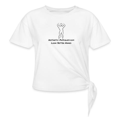 Classic Logo - Women's Knotted T-Shirt