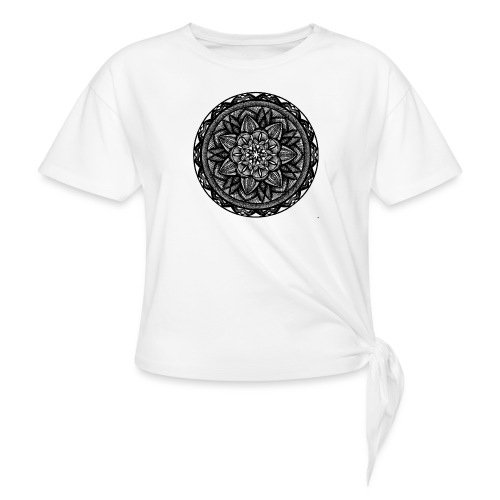 Circle No.2 - Women's Knotted T-Shirt