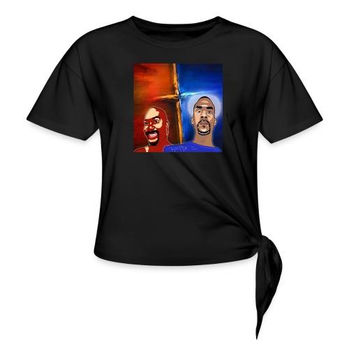 pretty tony galaxy 7 edge case - Women's Knotted T-Shirt