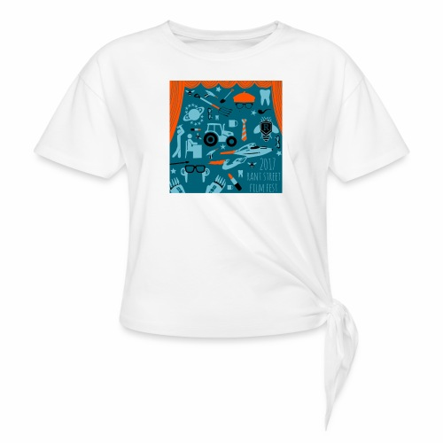 Rant Street Swag - Women's Knotted T-Shirt