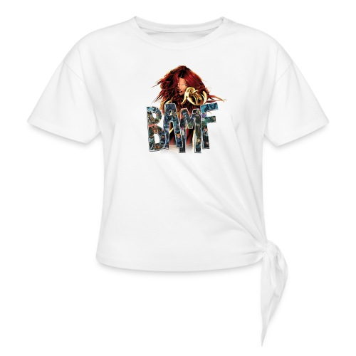 phoenix png - Women's Knotted T-Shirt