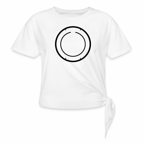 beta2back - Women's Knotted T-Shirt