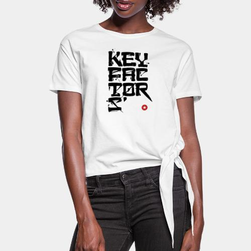 key factor - Women's Knotted T-Shirt