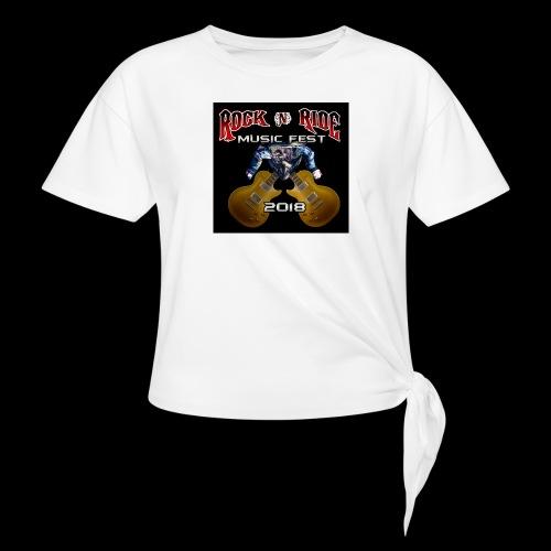 RocknRide Design - Women's Knotted T-Shirt