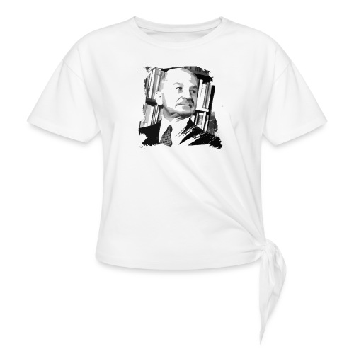 Ludwig von Mises Libertarian - Women's Knotted T-Shirt