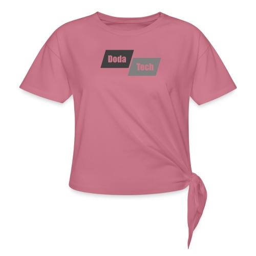DodaTech Logo - Women's Knotted T-Shirt