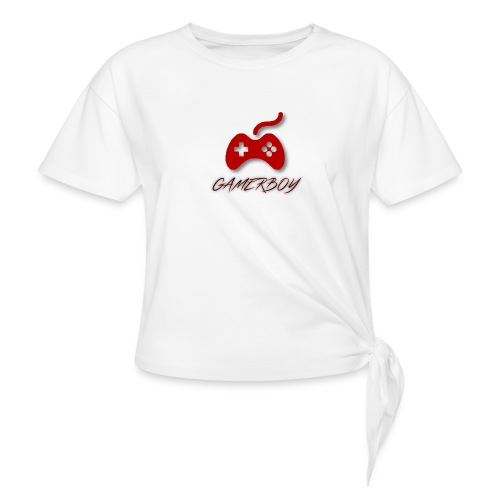 Gamerboy - Women's Knotted T-Shirt