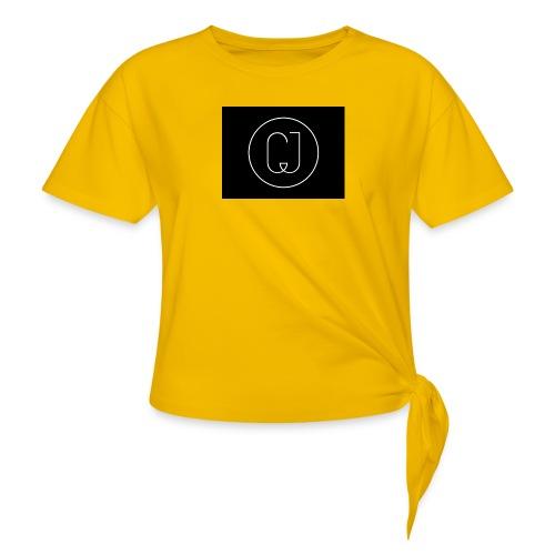 CJ - Women's Knotted T-Shirt
