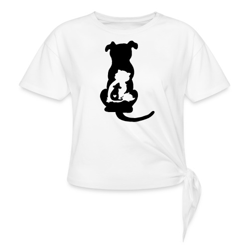 Harmony - Women's Knotted T-Shirt