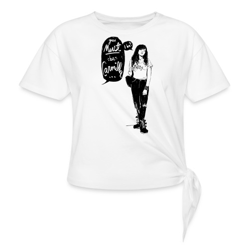 Valentine M. Smith x Carmilla - Women's Knotted T-Shirt