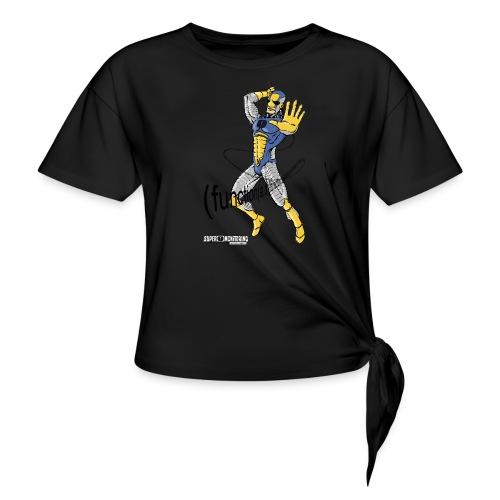 Super Developer - Women's Knotted T-Shirt