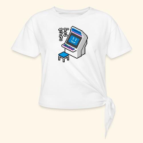 Pixelcandy_BC - Women's Knotted T-Shirt