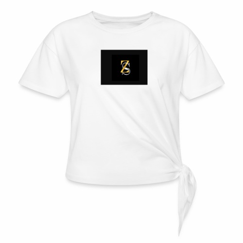 ZS - Women's Knotted T-Shirt