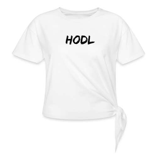 HODL - Women's Knotted T-Shirt