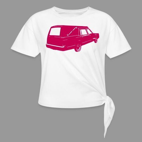 Hearse - Women's Knotted T-Shirt