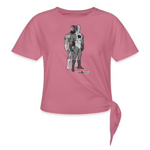 Superhero 9 - Women's Knotted T-Shirt