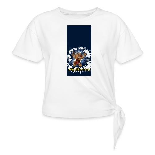minotaur5 - Women's Knotted T-Shirt