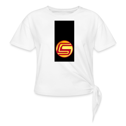 siphone5 - Women's Knotted T-Shirt