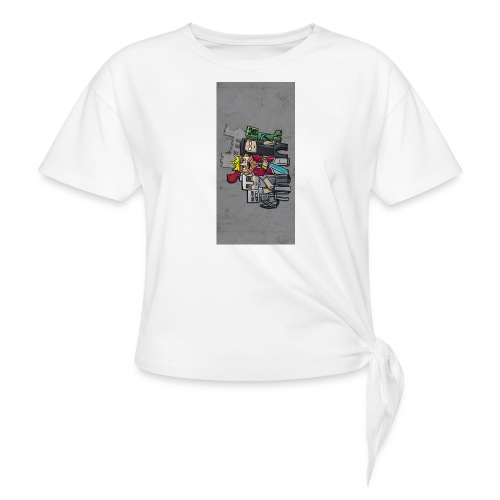sparkleziphone5 - Women's Knotted T-Shirt