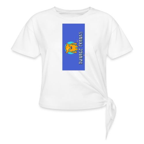 logo iphone5 - Women's Knotted T-Shirt