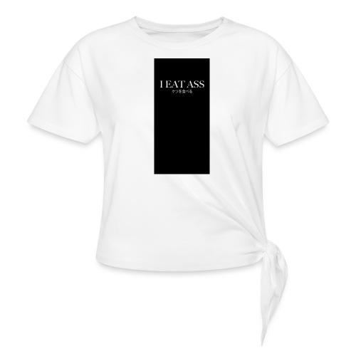 assiphone5 - Women's Knotted T-Shirt