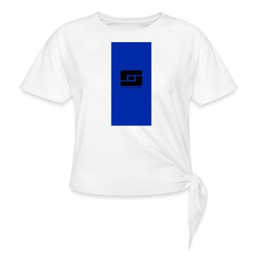 blacks i5 - Women's Knotted T-Shirt