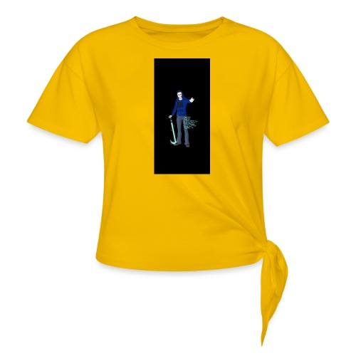 stuff i5 - Women's Knotted T-Shirt