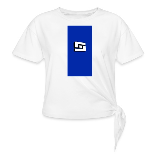 whites i5 - Women's Knotted T-Shirt