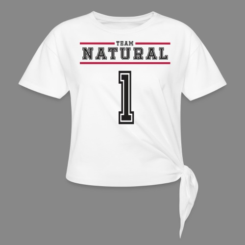 Team Natural 1 - Women's Knotted T-Shirt