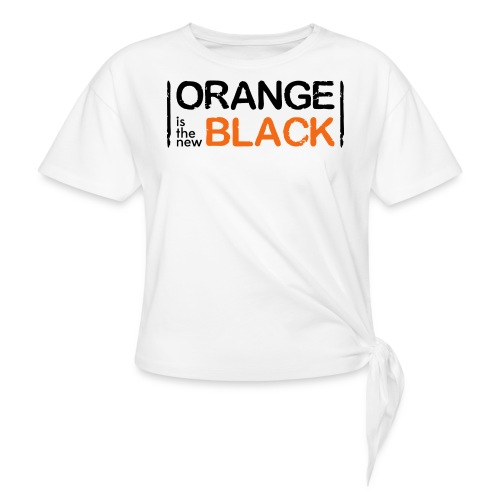 Free Piper, Orange is the New Black Women's - Women's Knotted T-Shirt