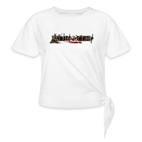 EoW Battleground - Women's Knotted T-Shirt