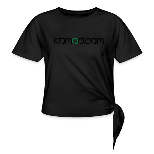 kbmoddotcom - Women's Knotted T-Shirt