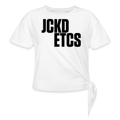 JE_BACK - Women's Knotted T-Shirt