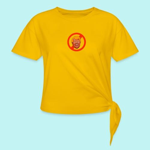 Dump Trump - Women's Knotted T-Shirt