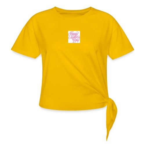 mothers day - Women's Knotted T-Shirt
