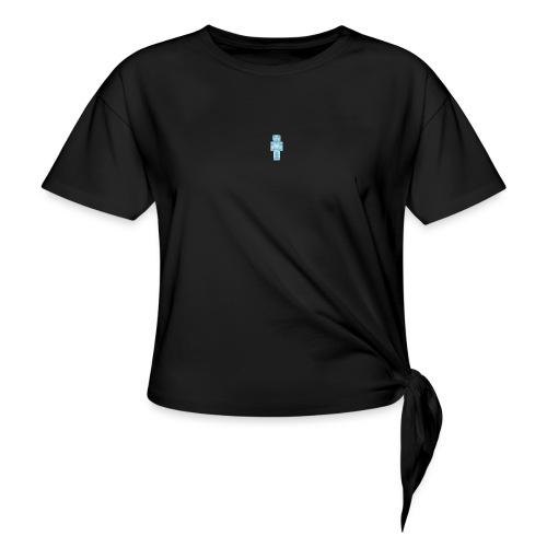 Diamond Steve - Women's Knotted T-Shirt