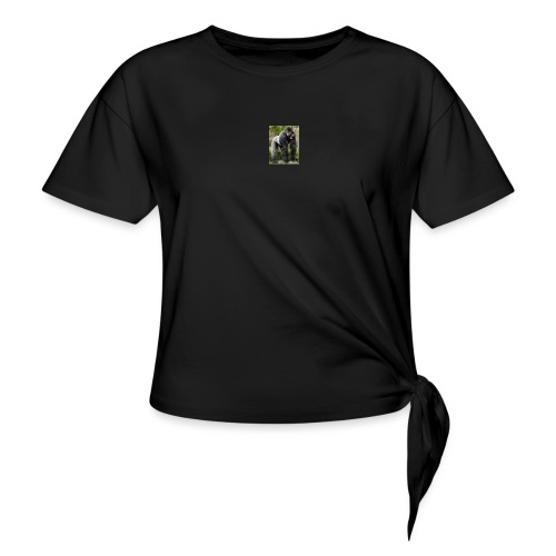 flx out louiz - Women's Knotted T-Shirt