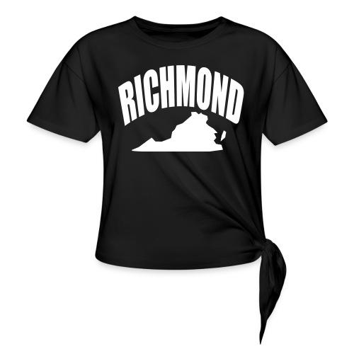 RICHMOND - Women's Knotted T-Shirt