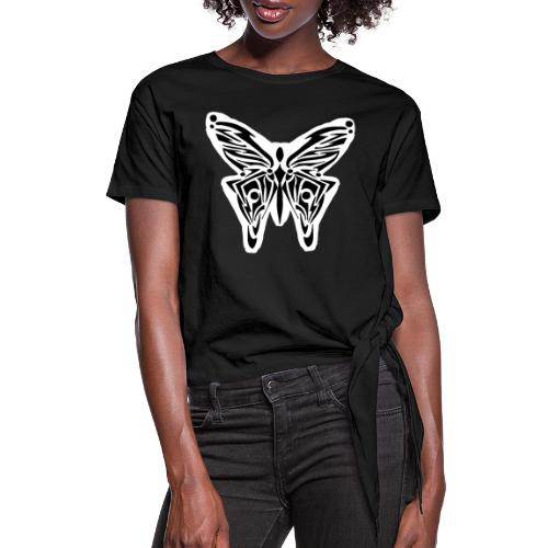 Magic creatures - Women's Knotted T-Shirt